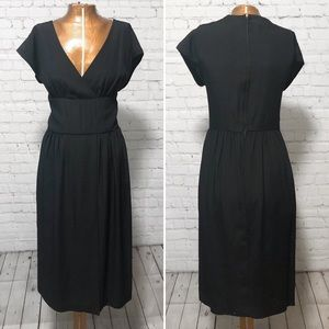 Vintage Halston Little Black Dress EUC